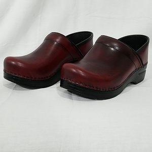 Dansko wedged shoes